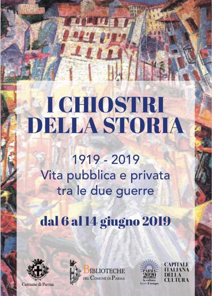 """A Parma per """"I chiostri della Storia"""". Protagonista: Margherita Sarfatti"""